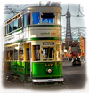 tram,Blackpool , arive photography